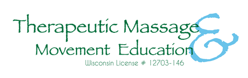 Therapeutic Message & Movement Education Wisconsin License # 12703-146