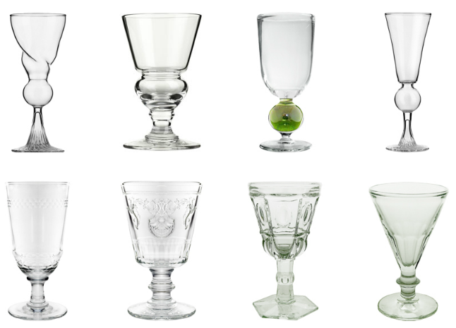Reservoir And Dose Line Absinthe Glasses