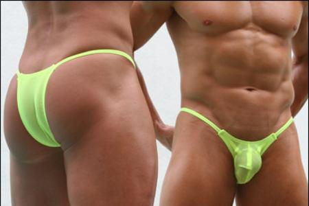 String bikinis for men