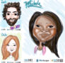 Digital Caricatures NYC