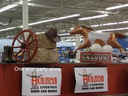 Rodeo theme decoration