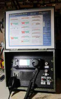 IC-706MkIIG AS A PORTABLE STATION