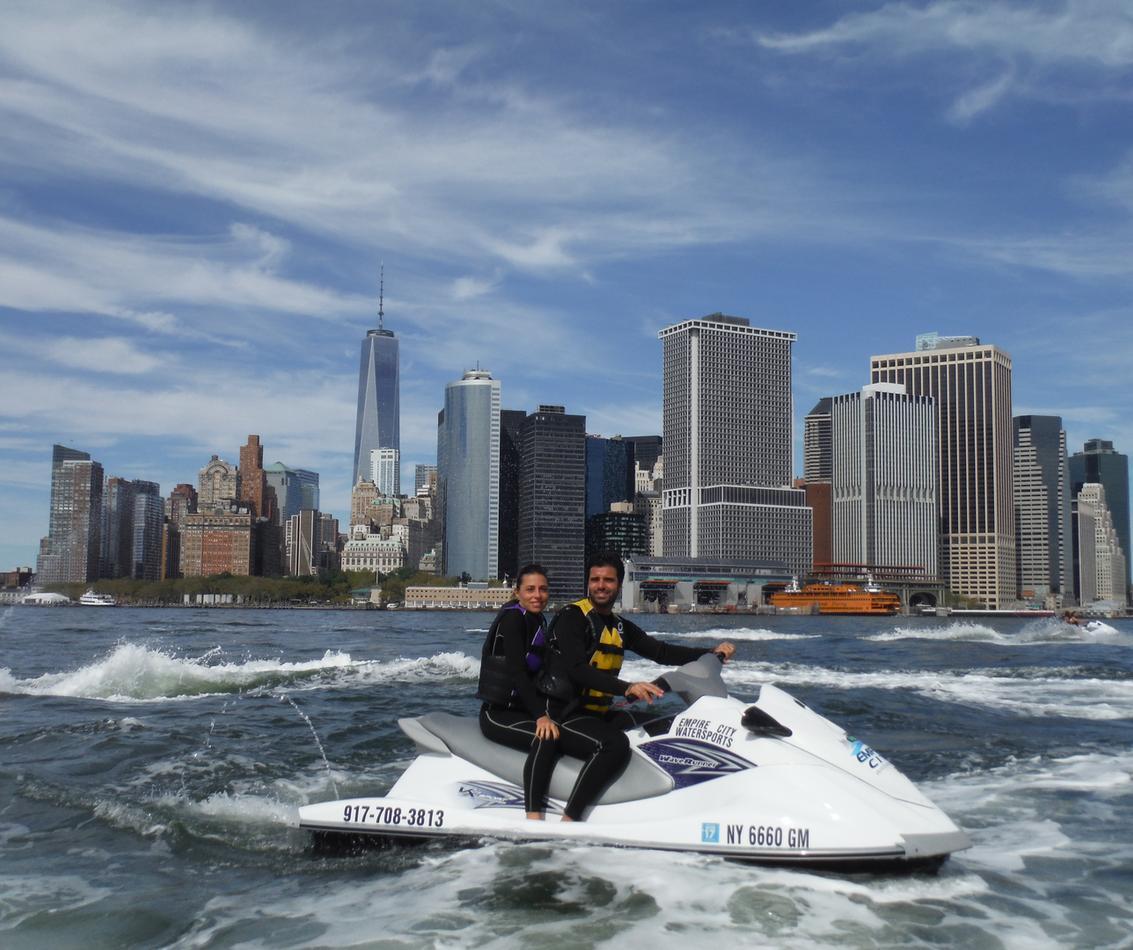location jet ski new york
