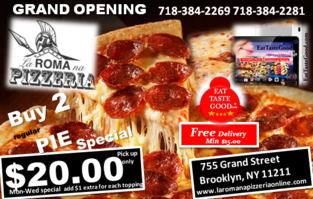 Brooklyn original pizzeria