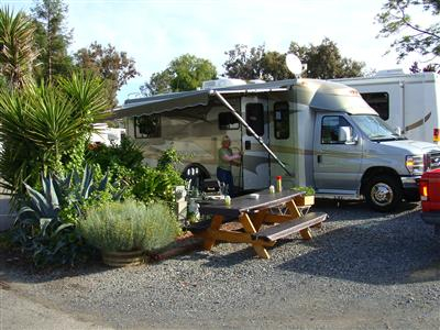 Experience The Finest Camping In Sonoma County California Area At Wine Country RV Park