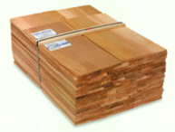 Bundle of Western Red Cedar Shingles