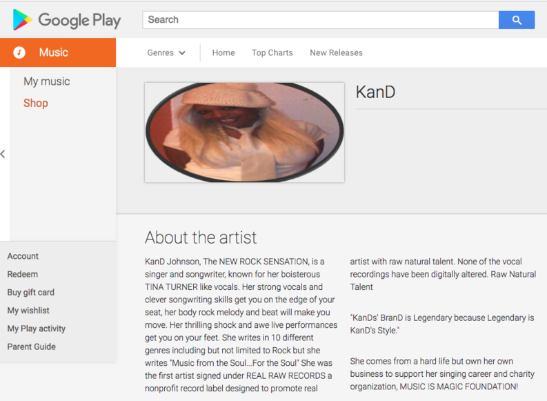 Music By KanD on Google Play - Music