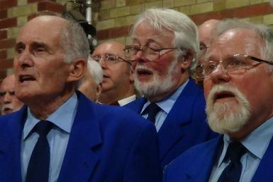 Members of the SMVC based in Havant, Hampshire all in good voice