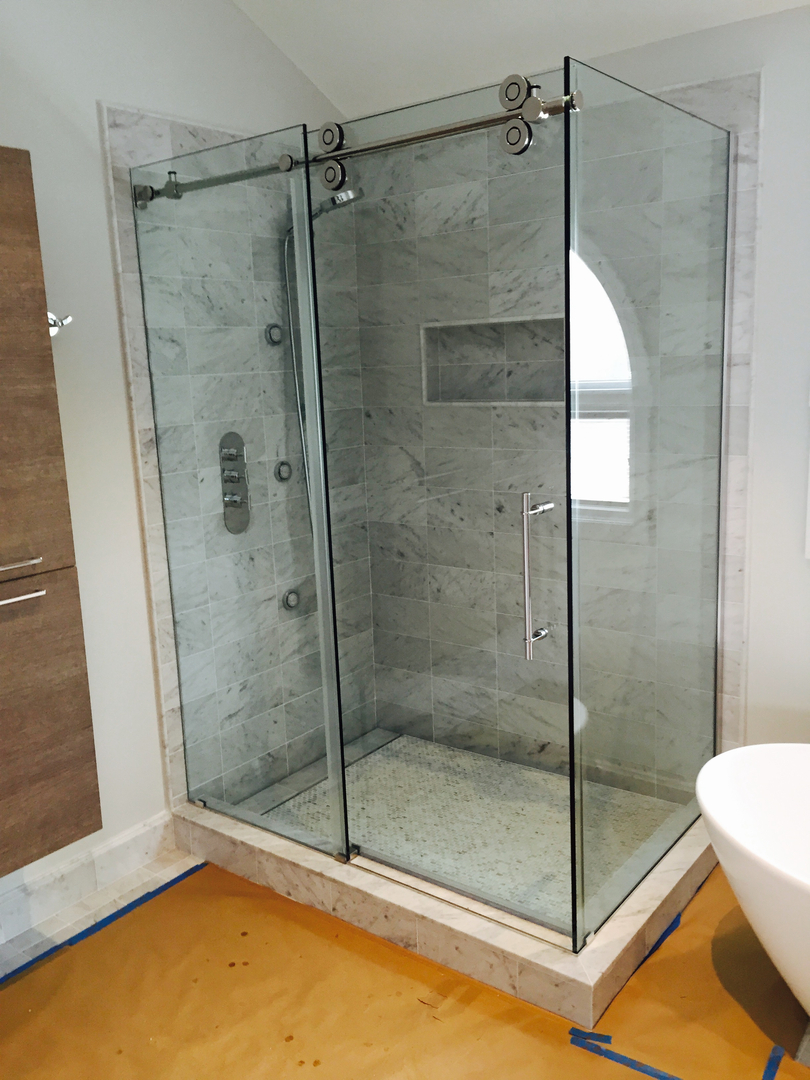 frameless shower enclosures shower doors aspire glass ocean turn your bathtub into a convenient shower solution without compromise they provide a more enjoyable showering experience why choose us