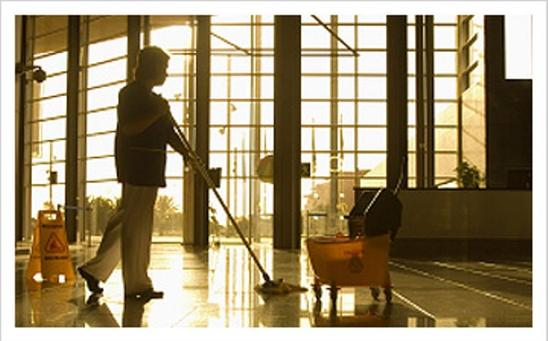 Commercial Building Cleaning Service