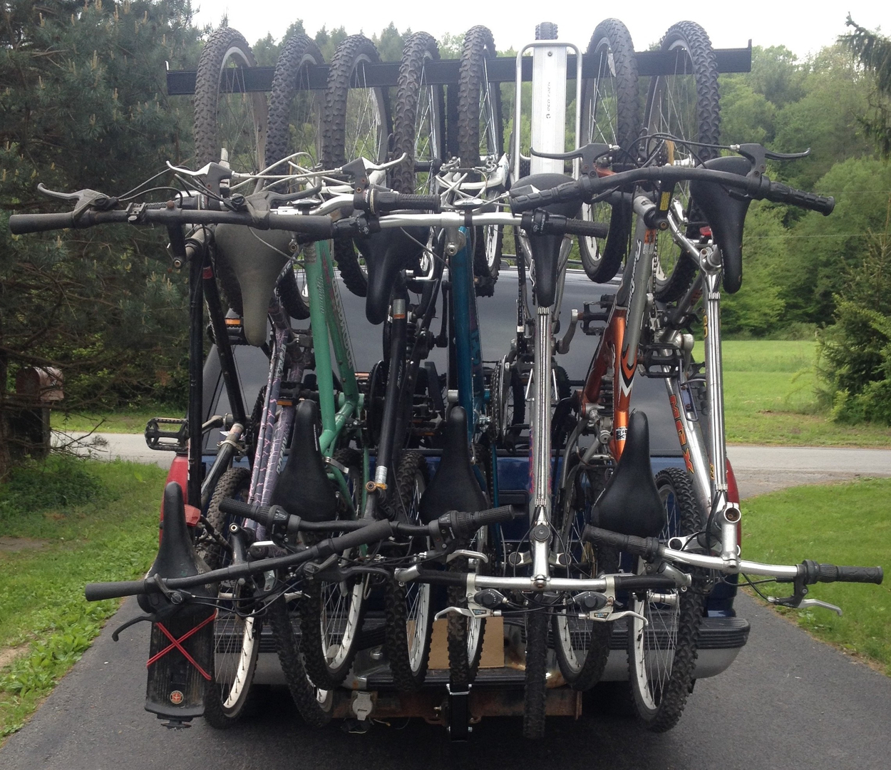 ez package hitch and drtray rack yakima specs bike add on