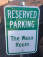 Waxing Parking for Brazilian Wax