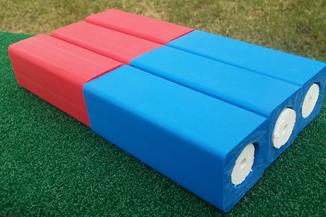 www.kubb.games - plastic colorful kubb sets made in the USA - COOB35 - coob 35 games in 1 - bocce - bowling - beer pong - golf - croquet - horseshoes - ladder ball - lawn darts - washers - shuffleboard - cornhole - 3 red kubb blocks - 3 blue kubb blocks - 3 white kubb batons - plastic kubb - new beach game - new tailgate game