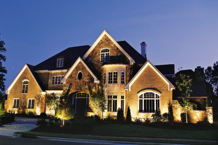 Landscape lighting in Houston, TX - Best design ideas for outdoor ...