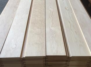 Hemlock Tongue and Groove Paneling