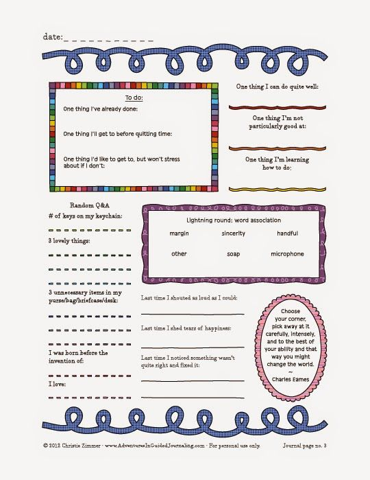 PTSD Worksheets Journal Pages Posters – Ptsd Worksheets