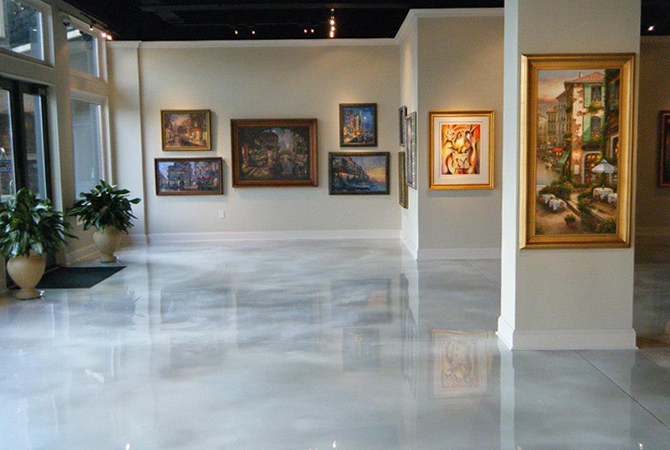 Syracuse Polished Concrete