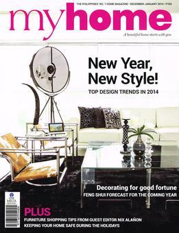 MyHome Magazine February 2014 Design Tips By IDr Gigi Figueroa