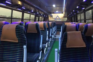 Tourist bus on hire in Shahdara, Bus on rent in East Delhi, Bus hire in mayur Vihar,