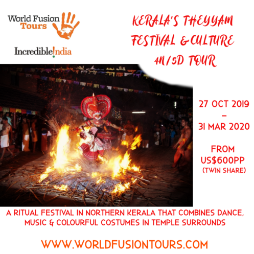 Kerala Theyyam Festival Cultural tour overview