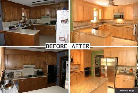 KITCHEN REMODELING - Kitchen Cabinets - Custom Kitchen Cabinets ...