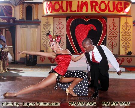 Quinceanera Surprice Dance Moulin Rouge Miami