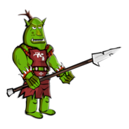 Orc Sticker