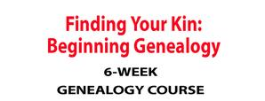 6-week Genealogy Course