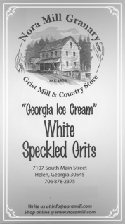 Nora Mill White Speckled Grits Recipes