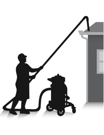Gutter Cleaning Hi Vac Gutter And High Ceiling Cleaning
