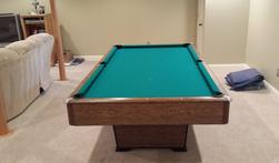 Pool table Assembly