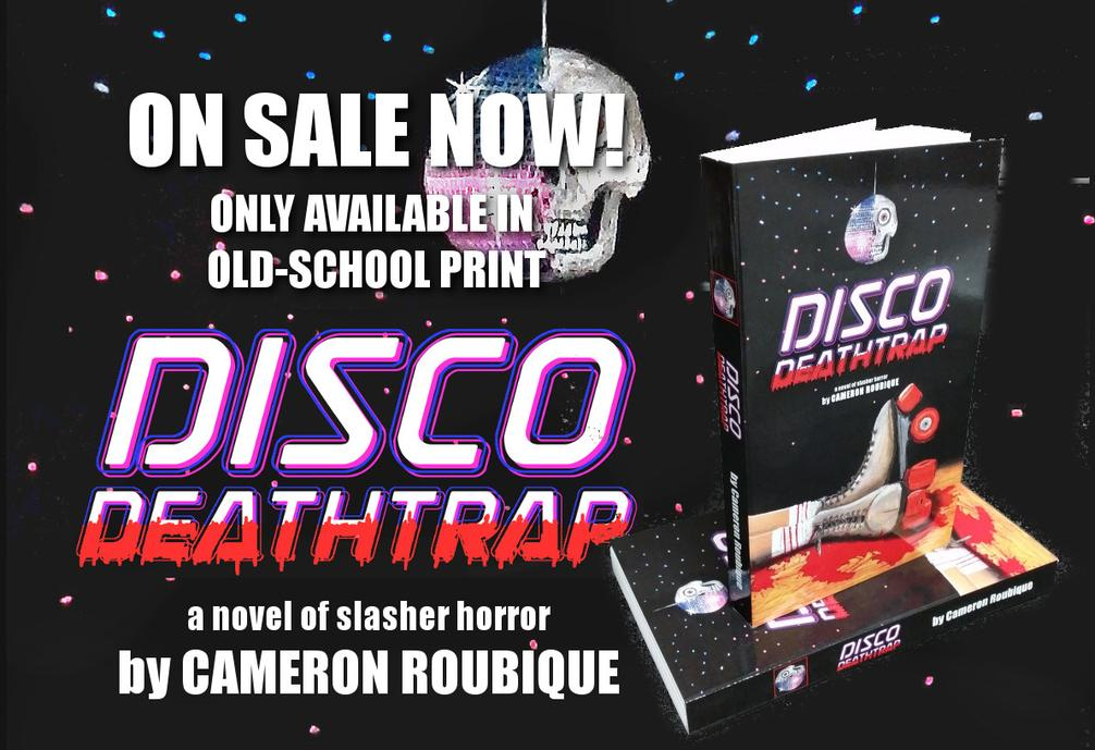 Disco Deathtrap on sale now