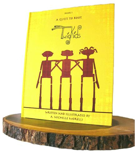 Twig Kid's children's book 1, A Quest to Root