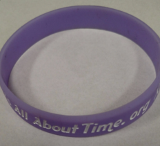 It's All About Time Wristbands