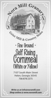 Nora Mill FINE Ground Cornmeal Recipes