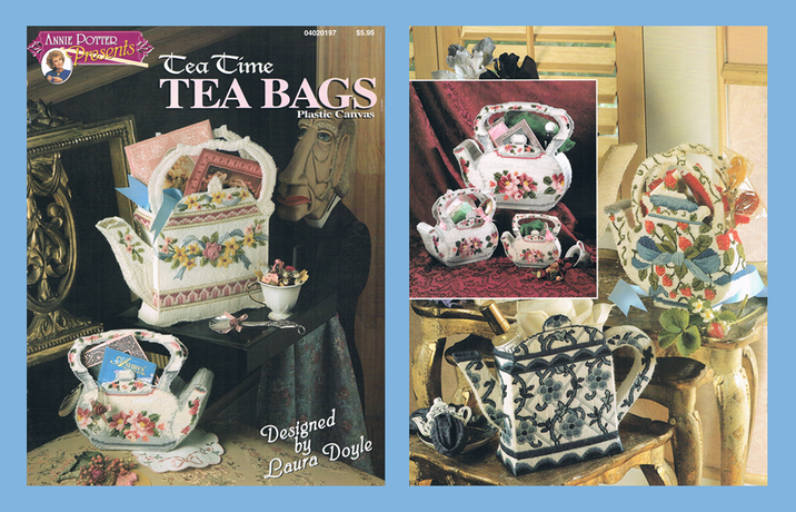Plastic Canvas Tea pot pattern