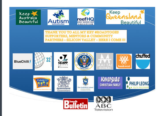 Key Partners and Supporters on my #RoadtoGES
