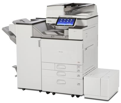 Cedar Rapids Photo Copy, Inc., CRPC, Savin MP C4504ex, Savin MP C6004ex, Office Printing, Office Printer, Office MFP, Printer, Copier, 45 pages per minute, 60 pages per minute, black and white or full color, standard automatic duplexing, SPDF, single pass document feeder, ADF, Copy, Scan, Print, Fax