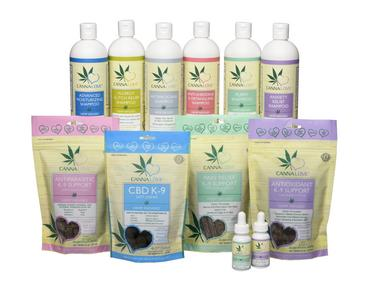 Canna Love Pet Hemp Products click to see list of products.