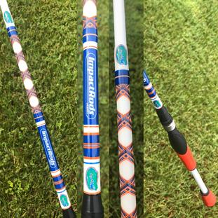 University of Florida UF Gators Custom Fishing Rod