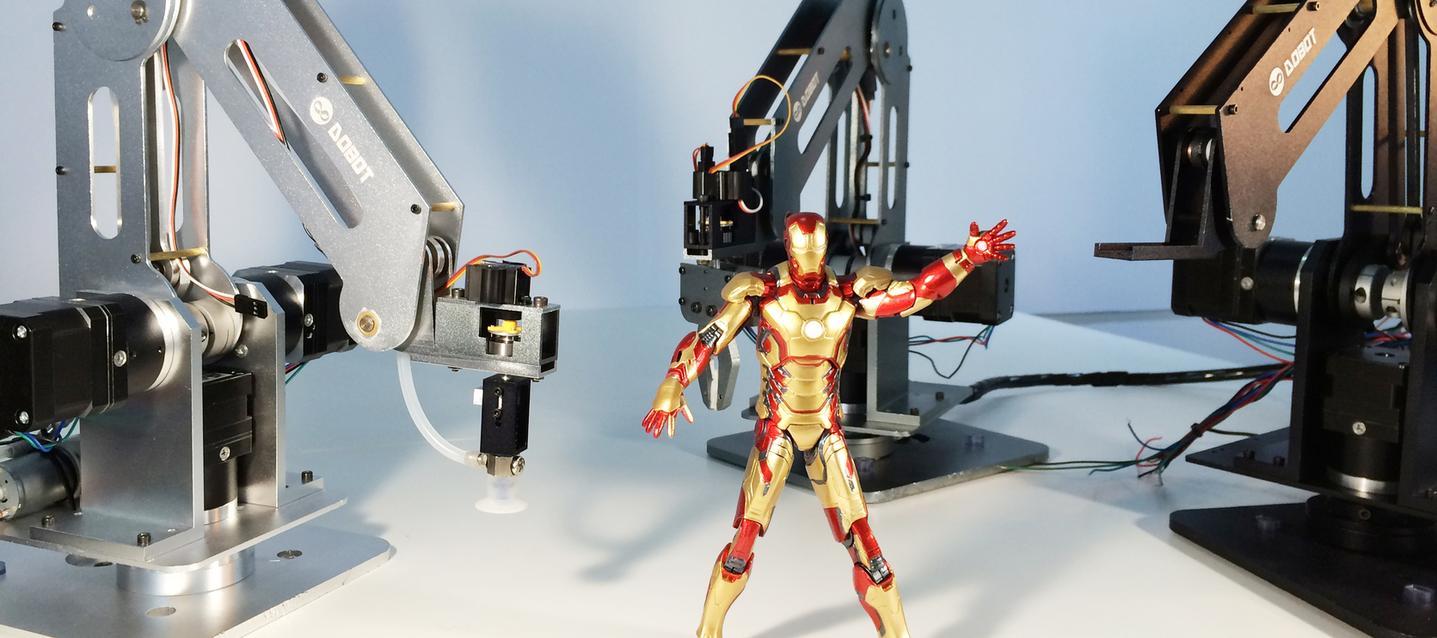 An interesting robot arm
