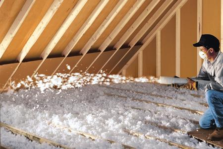 Blown-In Attic Insulation Las Vegas NV | McCarran Handyman Services