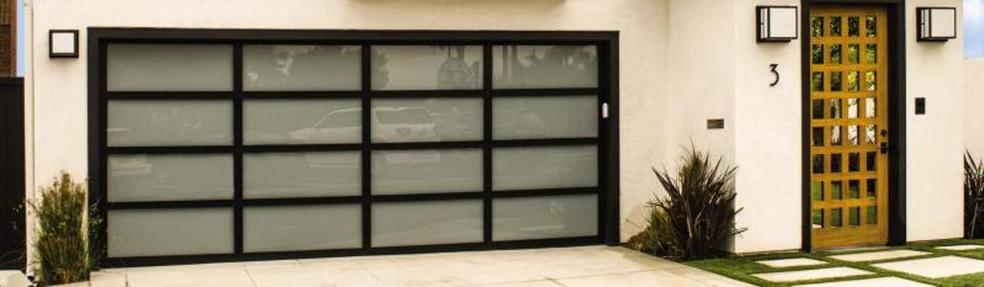 Aluminum Glass Garage Doors
