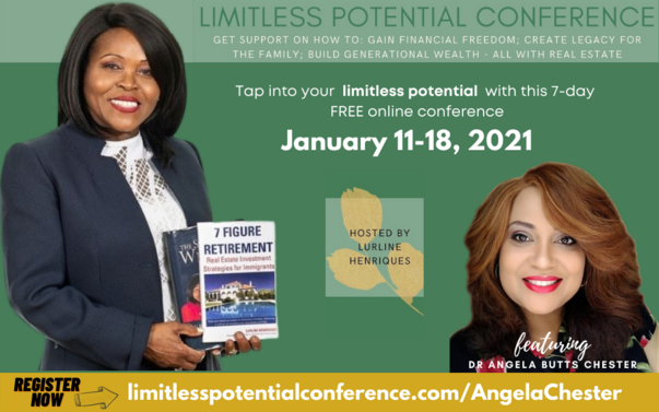 Limitless Potential Conference featuring Dr. Angela Butts Chester