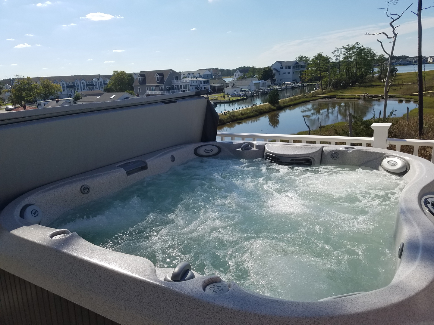 Hot Tubs and Swim Spas by Seasonal Solutions, Lewes DE and Millville DE