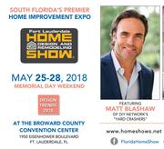 Fort Lauderdale events; Broward County events; Home design and remodeling show; home improvement; home renovation products and services
