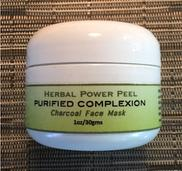 Herbal Power Peel Purified Complexion Charcoal Face Mask