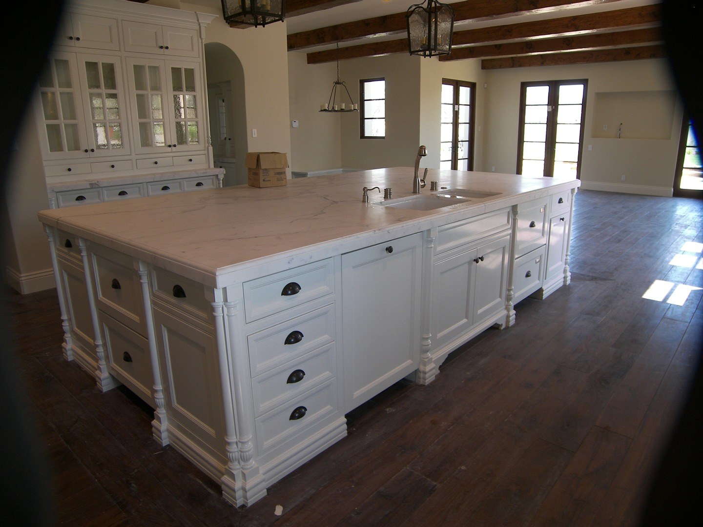 Kitchen Posts custom made by all kinds of wood products.