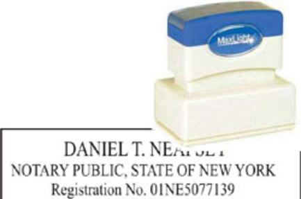 Get NY Notary License Stamp Classes Online
