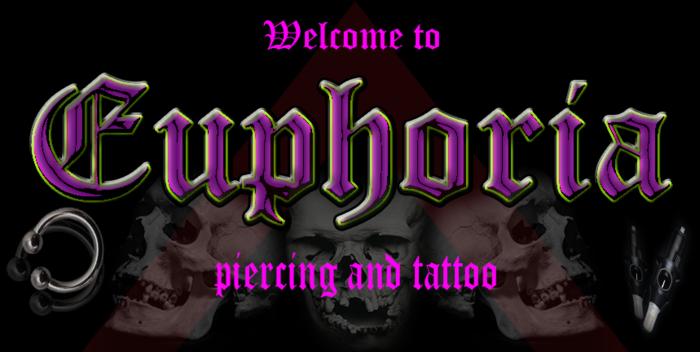 Euphoria Body Piercing Tattoo